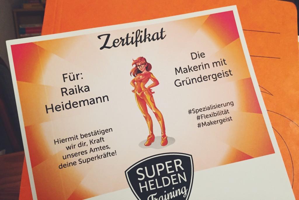 Superheldenzertifikat